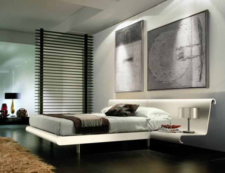 Cool bedroom ideas for girls for Monochromatic bedroom designs
