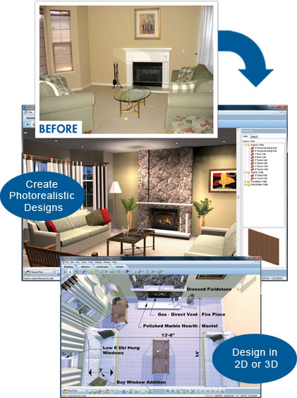 Create your own with these virtual house designs for Interior design software
