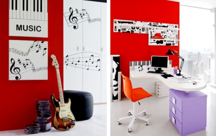 10 Great Ideas To Jazz Up A Small Square Bedroom: Ideas For Boys Teenage Bedroom