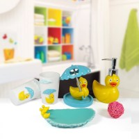 Girl Kids bathroom accessories