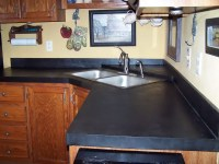 Beautiful slate kitchen countertops