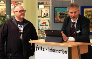 von links: Adolf Schieber, Mike Schwalbach