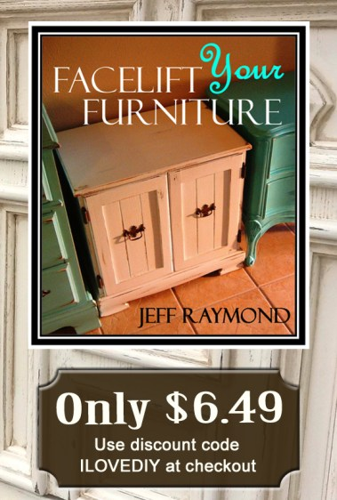 Get Our DIY eBook Facelift Your Furniture for only $6.49!