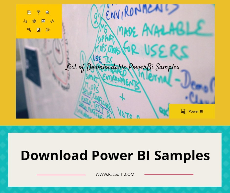 Download Full and Complete List of Power BI Service  Desktop Samples