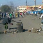 Ian Chakhaza   ianchakhaza Angry protesters in Lilongwe #July20