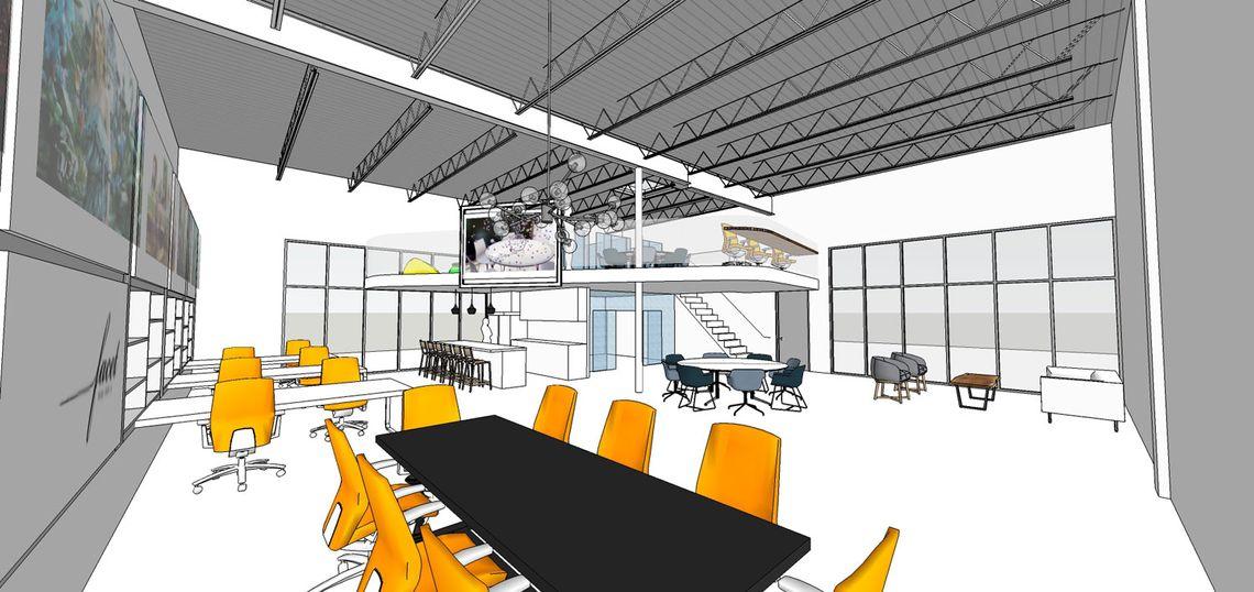 Startup Office Facet Design Studio