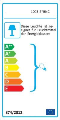 Edelstahl Standleuchte mit 2 x Steckdose Standlampe ...