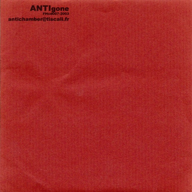 ANTI - gone (cover-Front)