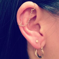 Help finding this beautiful chain earring? : piercing