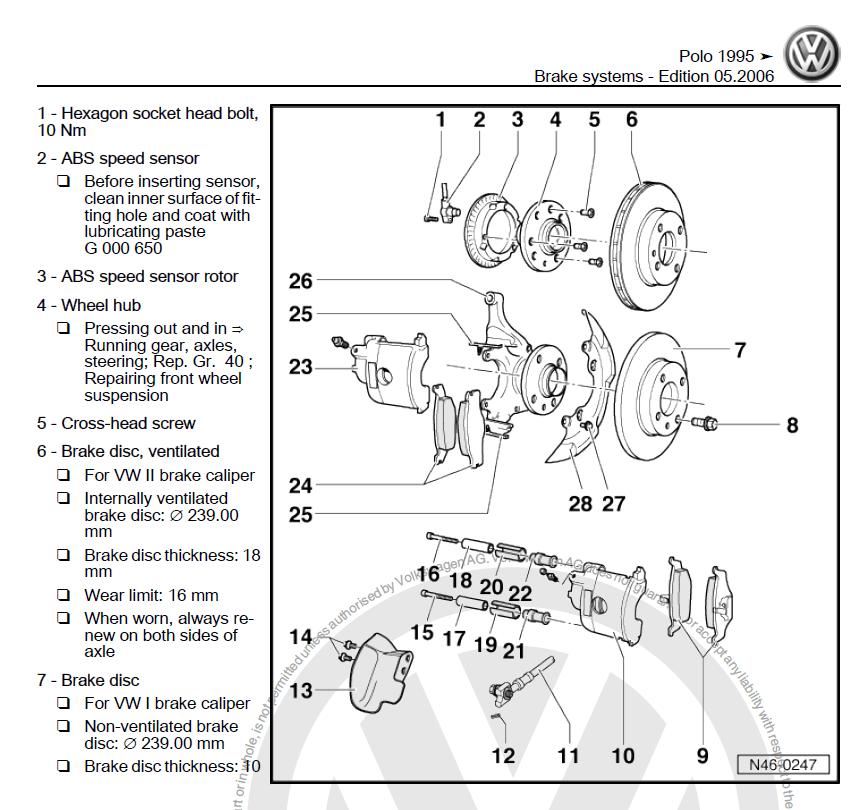 volkswagen ignition diagram