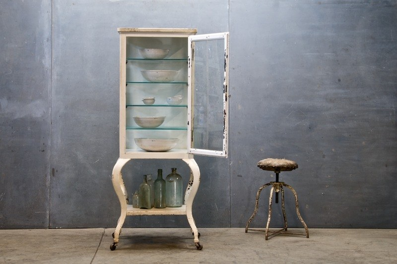 Vintage Pharmacy Apothecary Cabinet Factory 20
