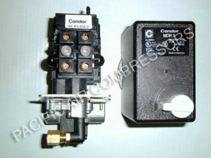 Air Compressor Combo Pressure Switch/Magnetic Starter \u2013 Adjustable