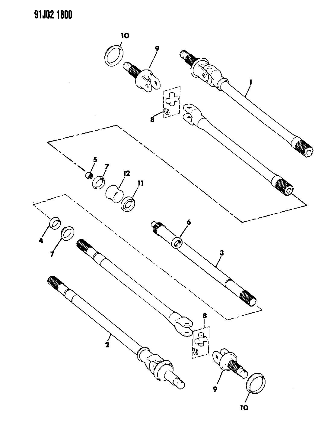 1987 dodge ram 50 wiring diagram