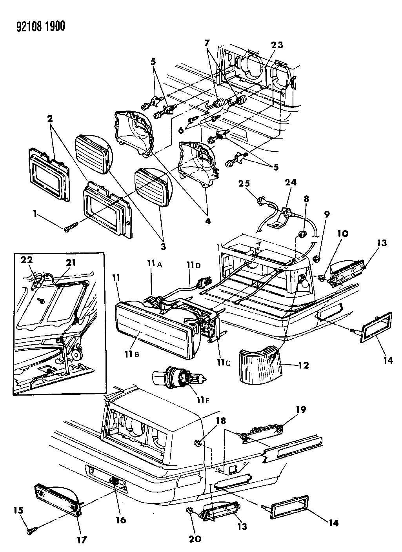 1991 chrysler new yorker wiring diagram