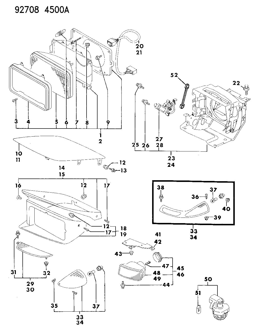 93 dodge stealth fuse box diagram