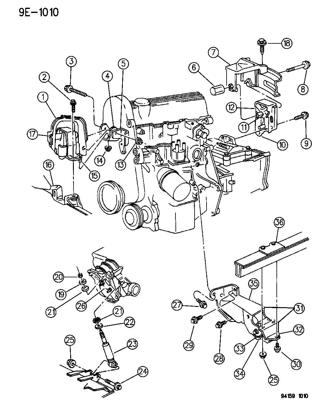 1994 plymouth sundance wiring diagram