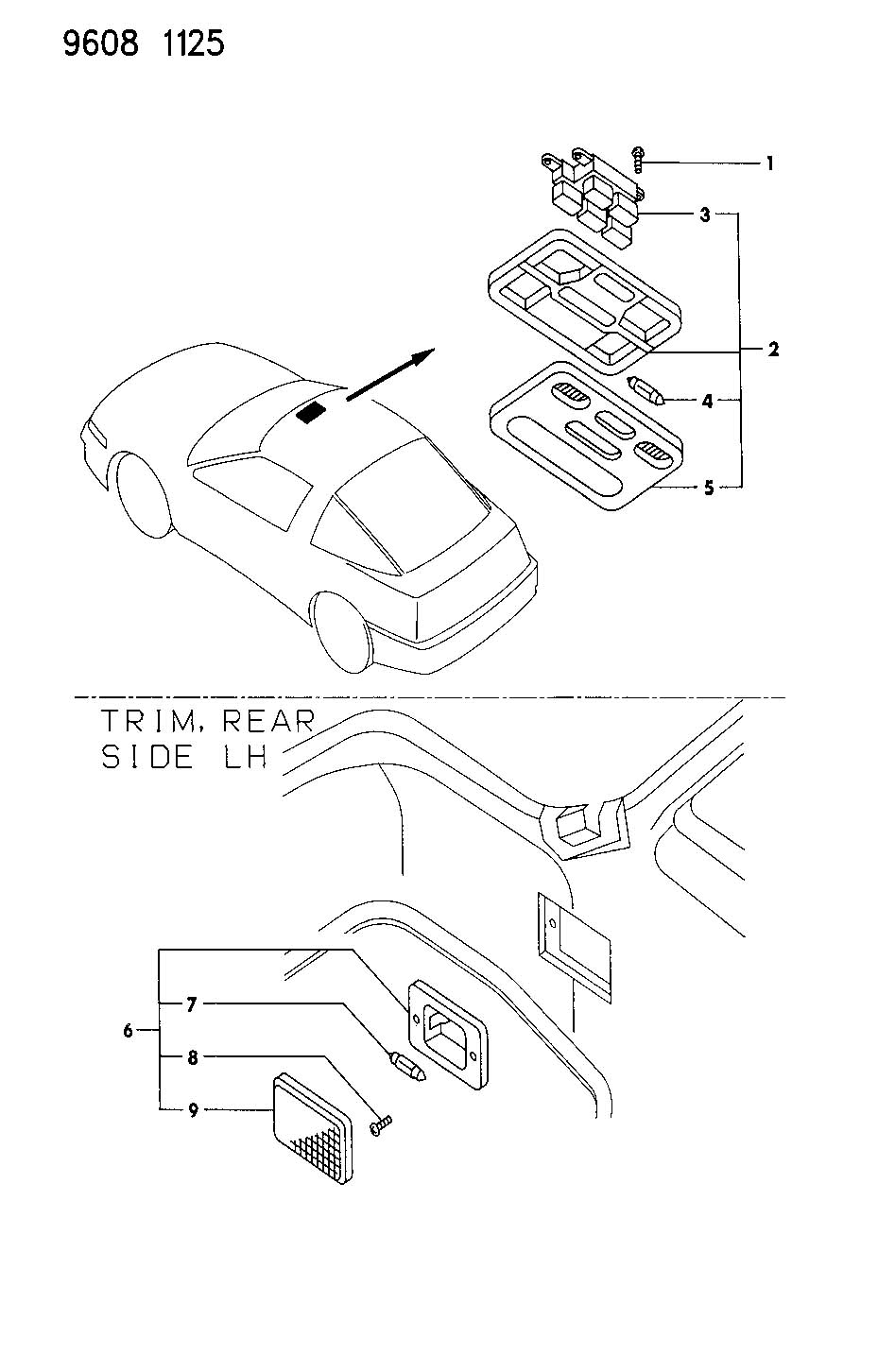1990 eagle talon engine wiring diagram