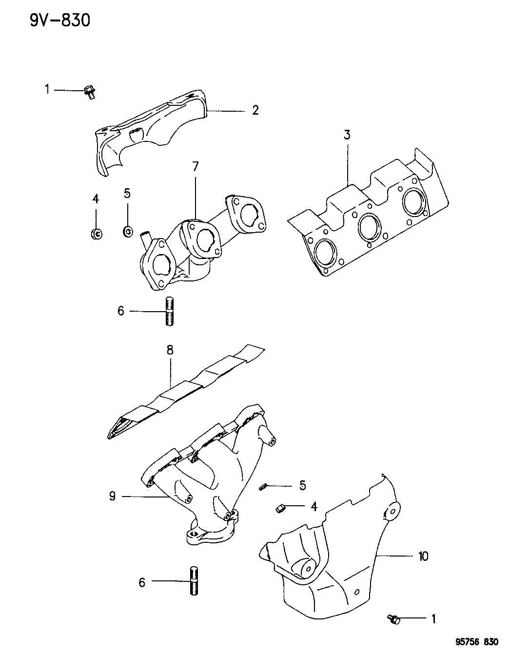 dodge stealth Motor diagram