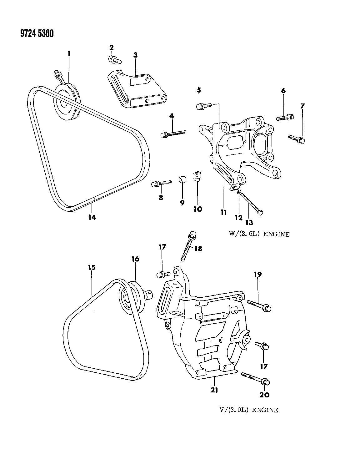 1989 dodge raider wiring diagram