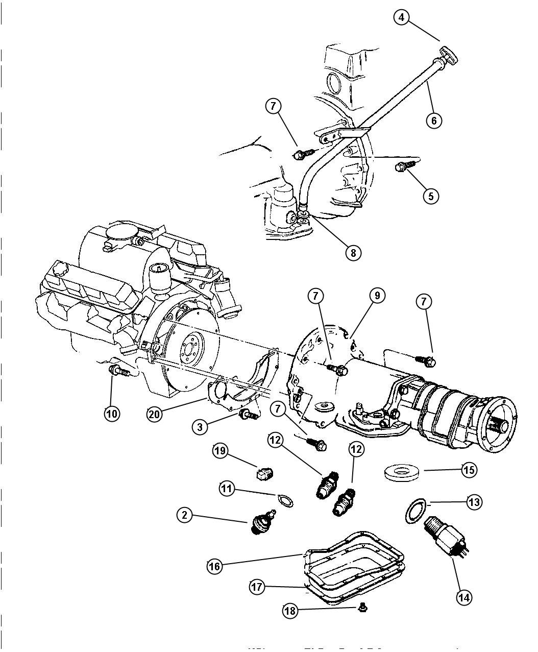 dodge 46re wiring diagram