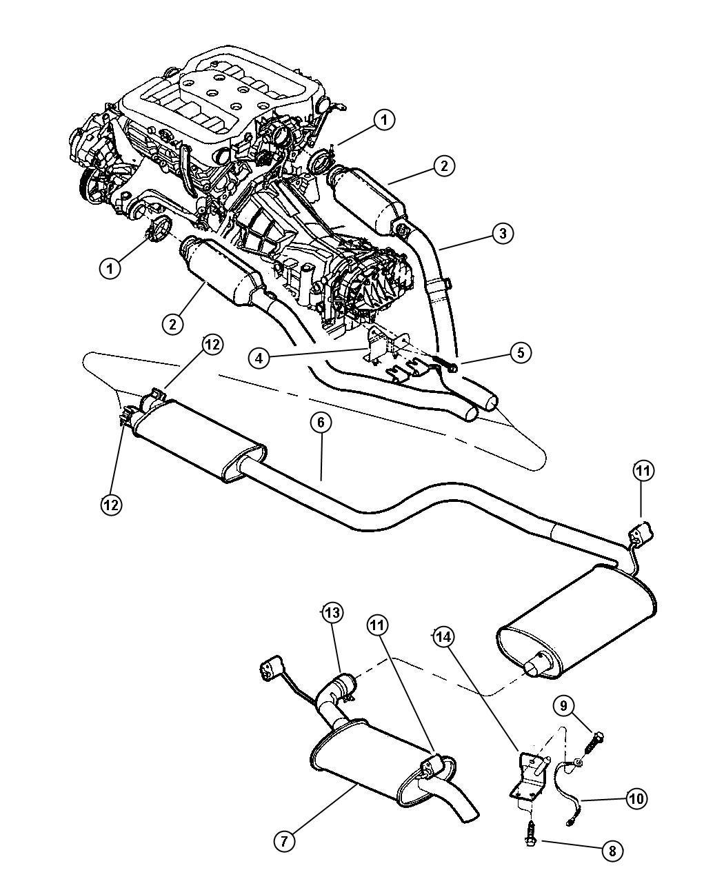2001 chrysler concorde engine diagram