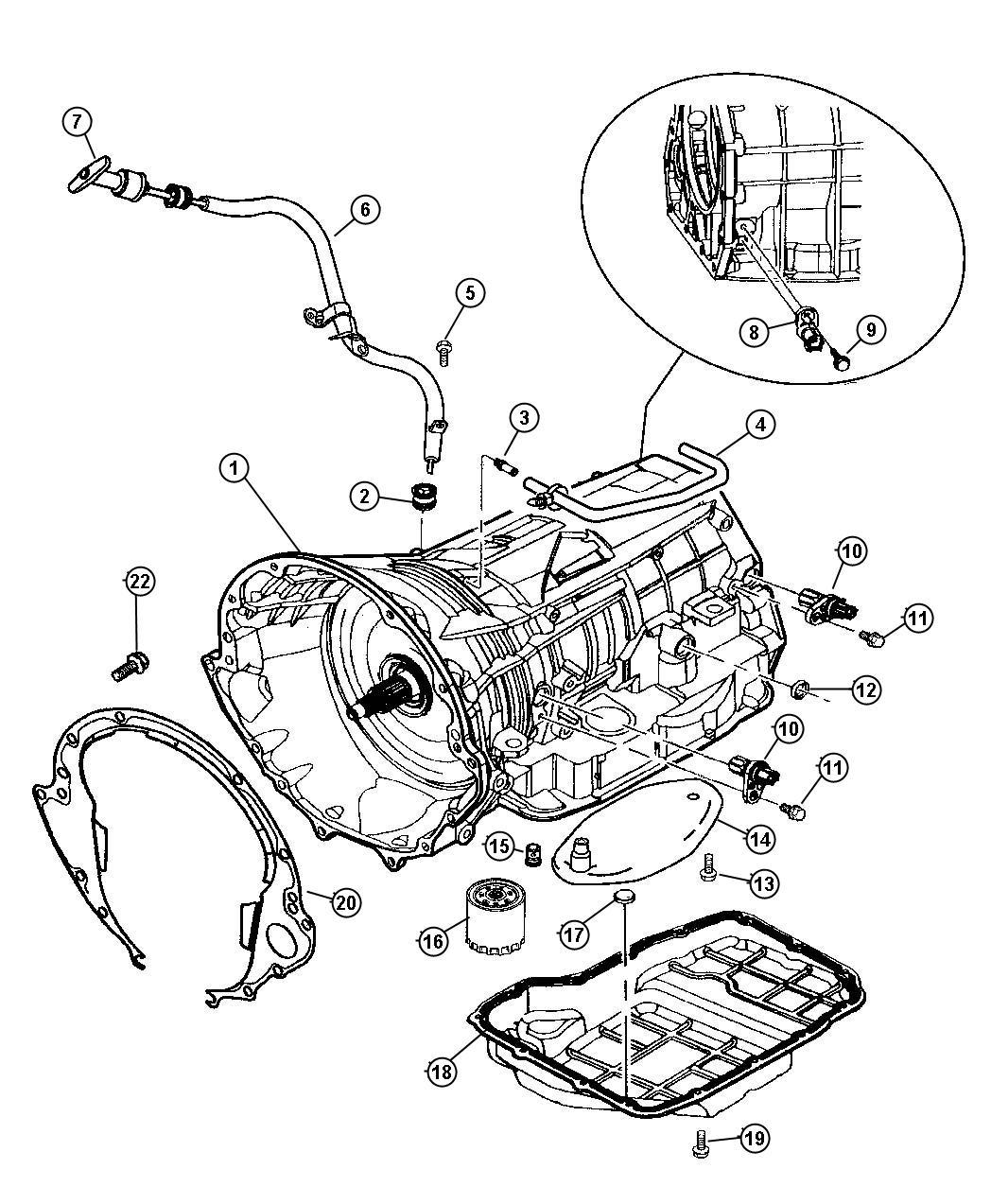 545rfe transmission schema cablage