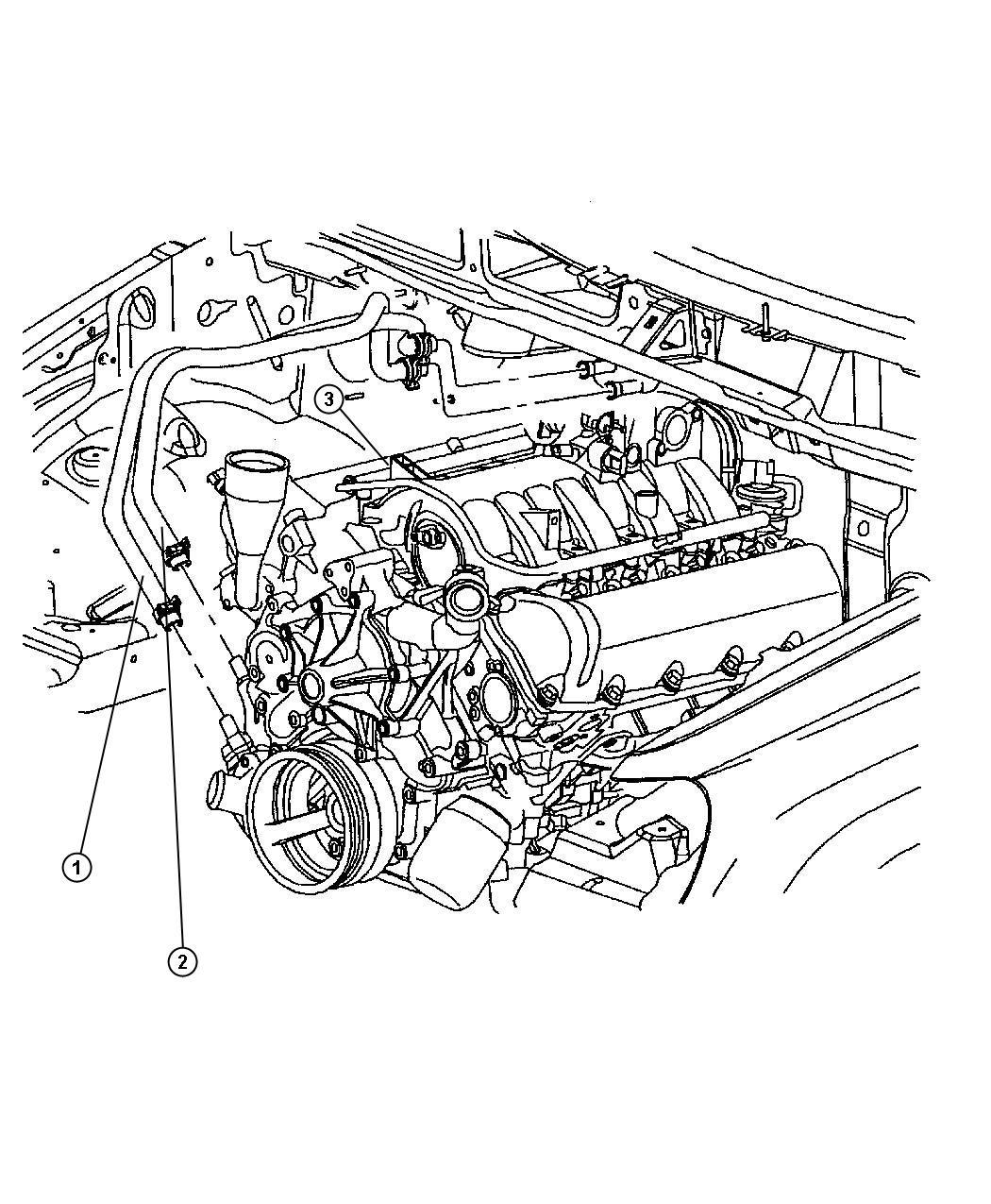 vpmodore heater hose diagram