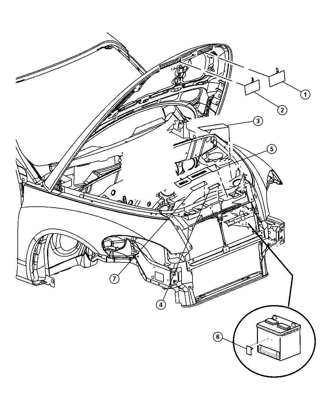 chrysler pt cruiser parts diagram chrysler free engine image for