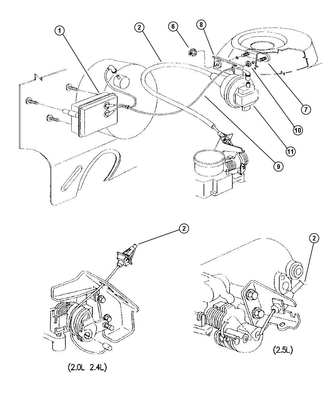1998 dodge intrepid engine diagram