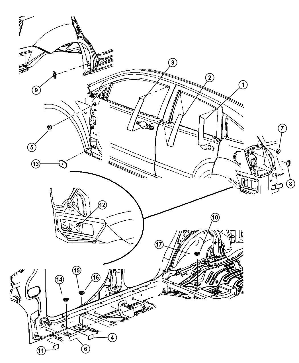 dodge caliber fuse diagram