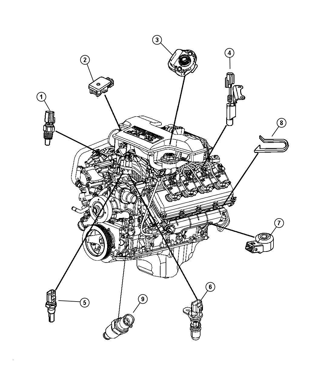 5 7l hemi engine diagram