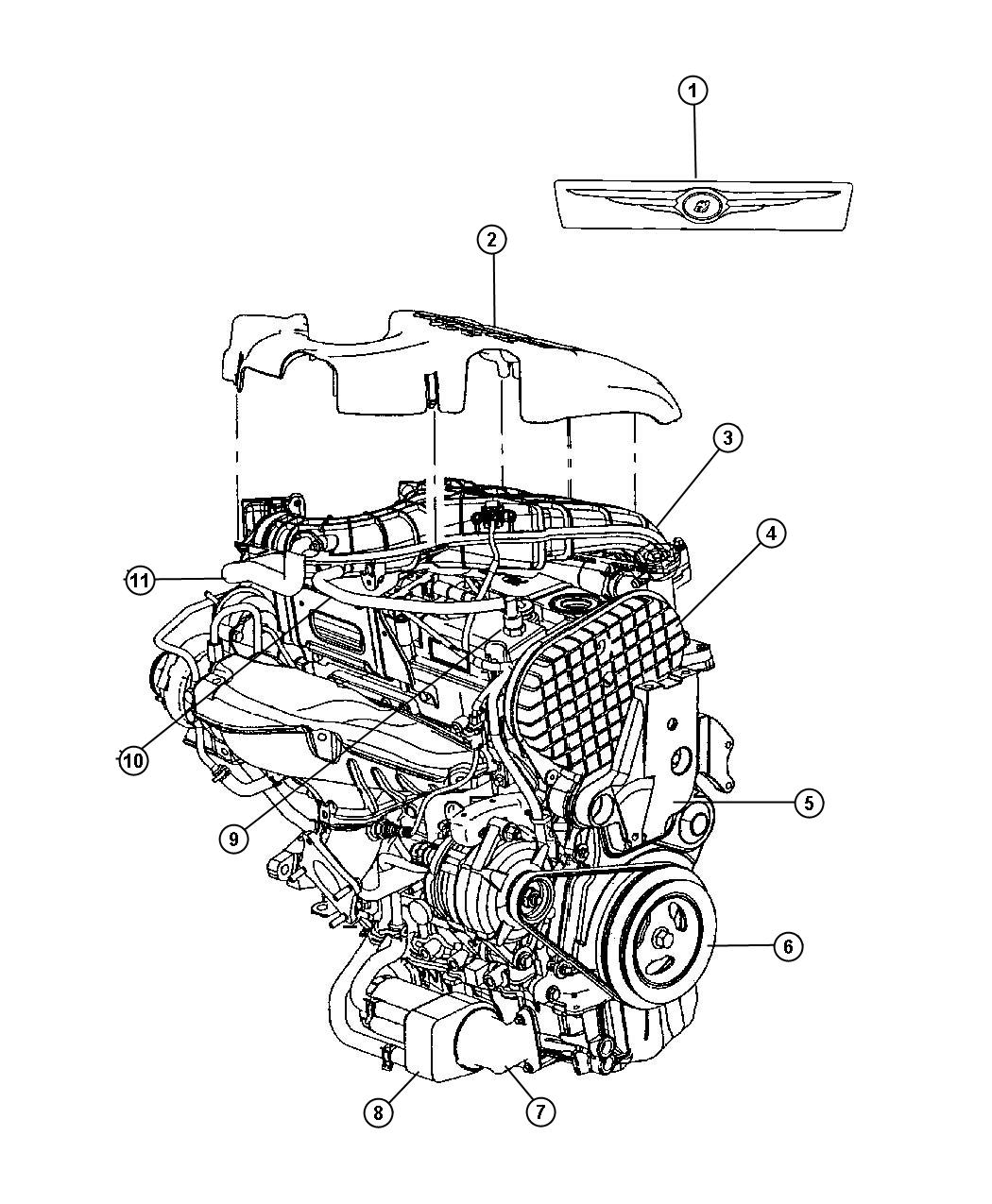 Pt Cruiser Engine Diagram Front End Auto Electrical Wiring