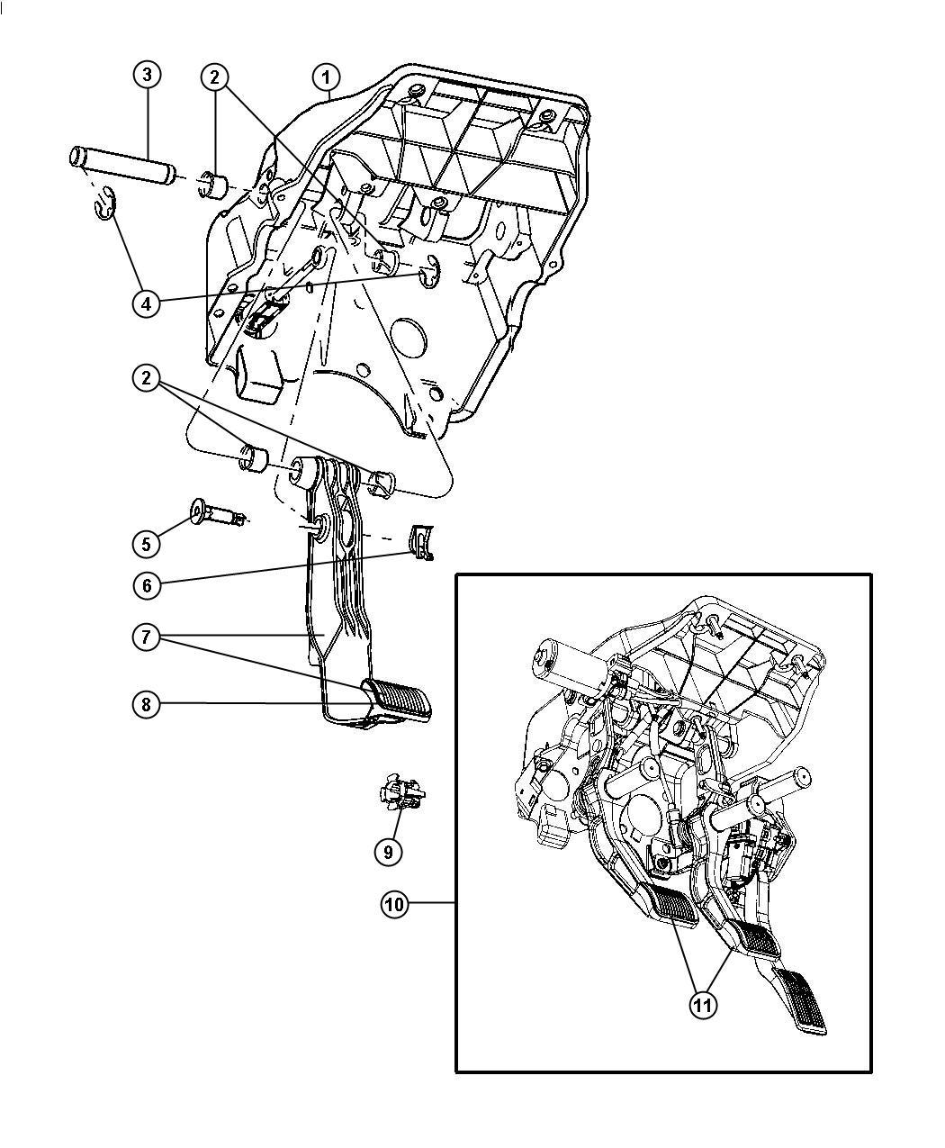 pedalbrakepower adjustable xap fits dodge ram 2500 2009
