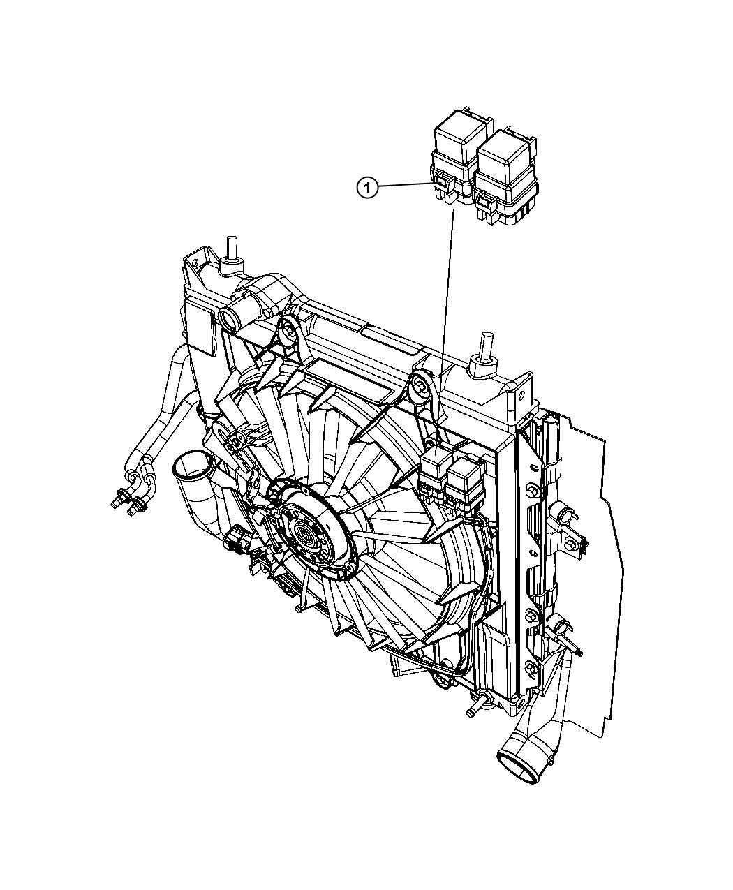 pt cruiser fan relay wire diagram