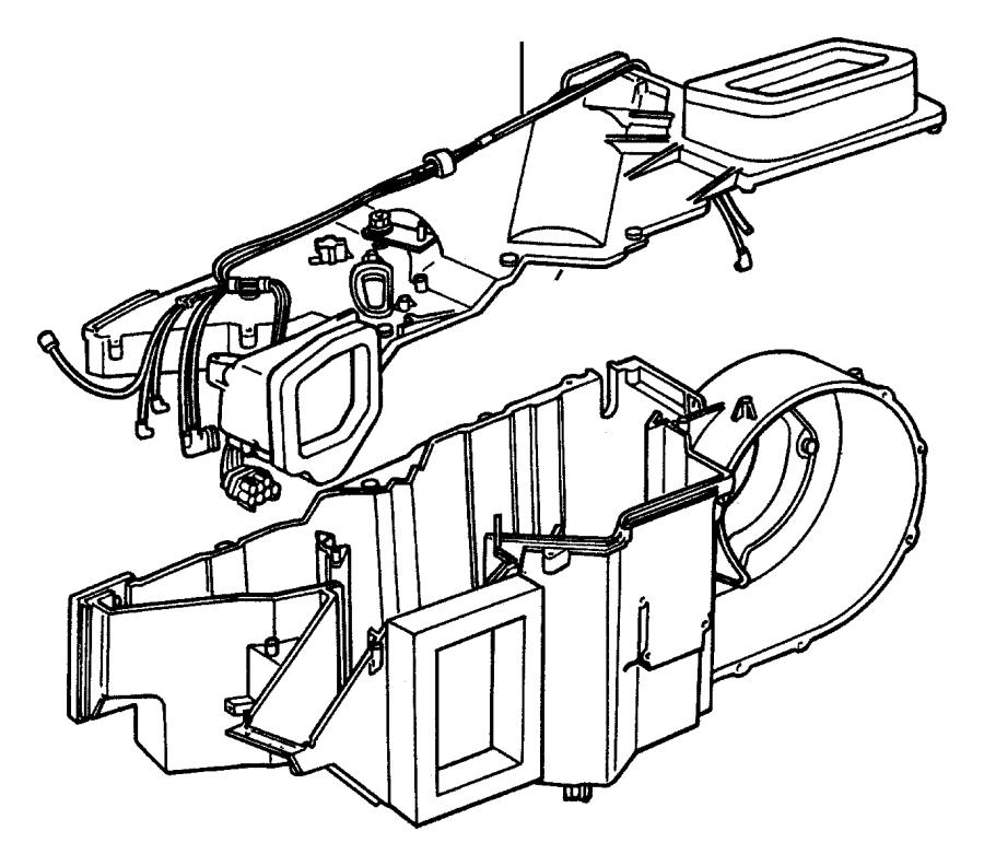 chrysler blower resistor