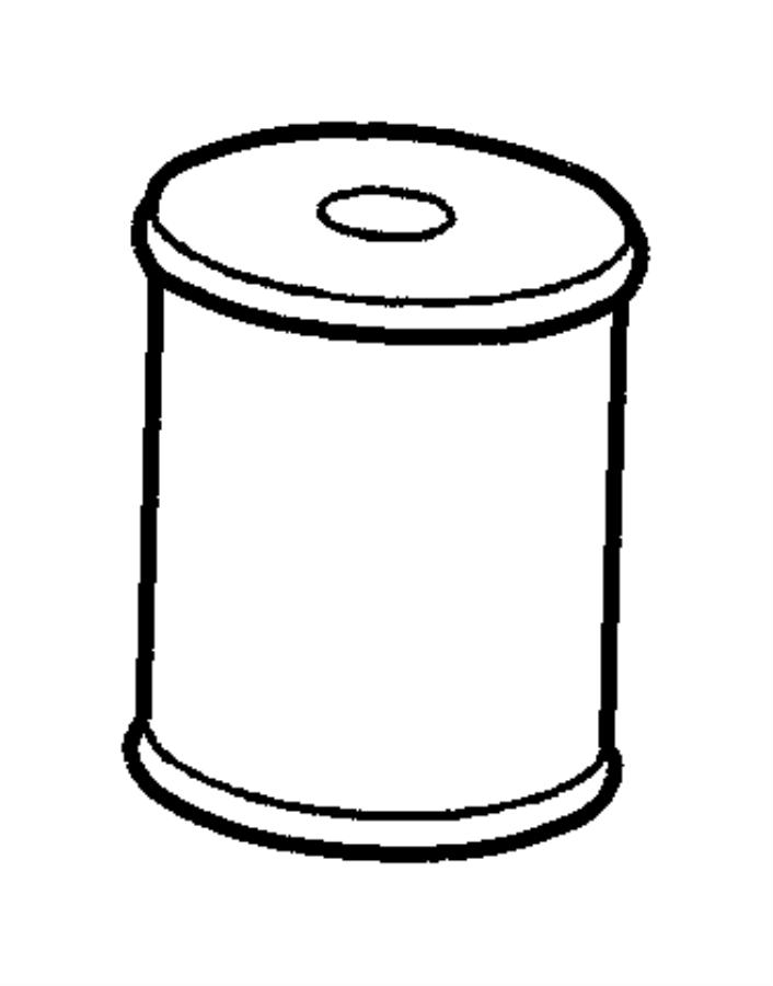 mopar fuel filter 68001914ab