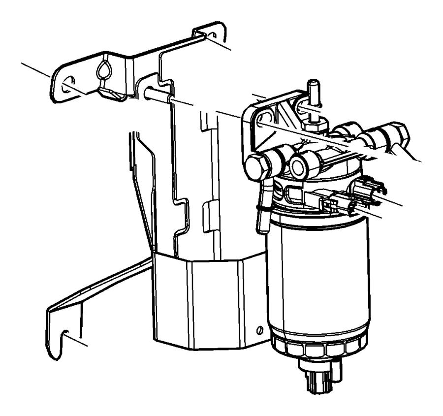 paccar fuel filter water separator