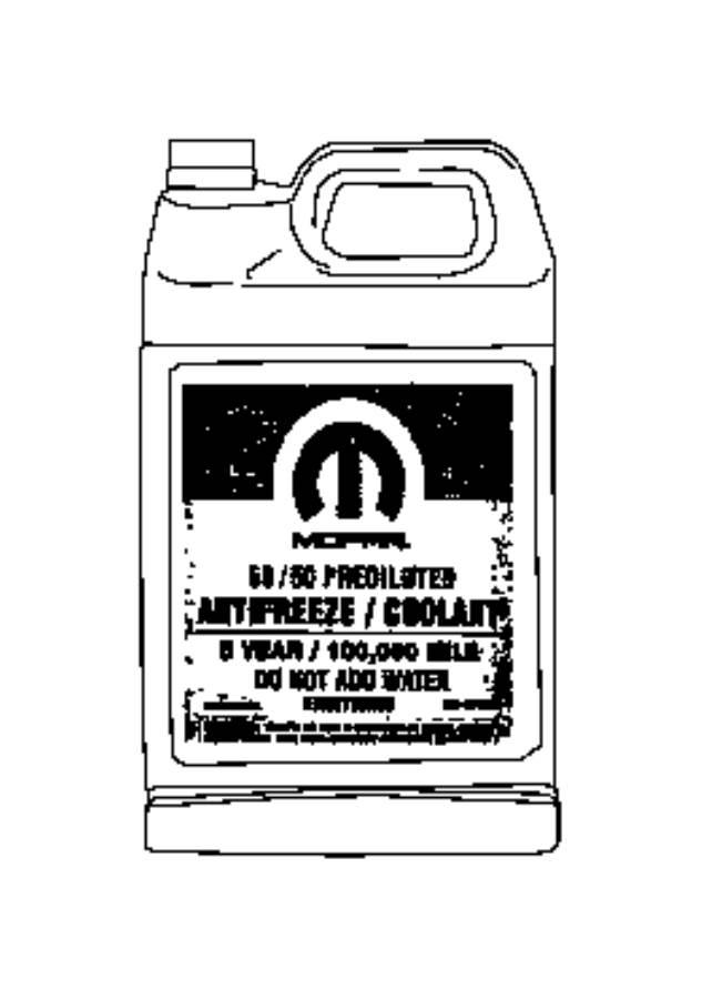 mopar engine coolant oat