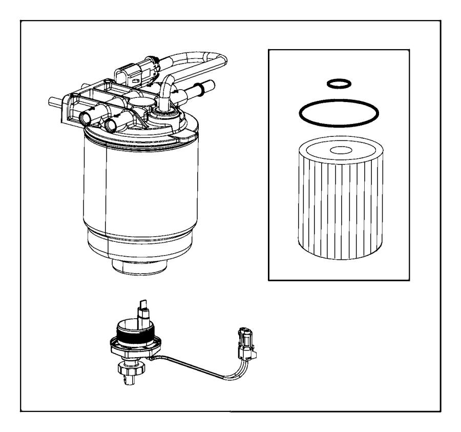 mopar fuel filter 68197867aa