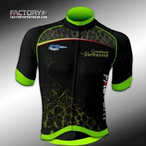 davanti factory sport wear maglia estiva ufficiale ciclismo granfondo della vernaccia