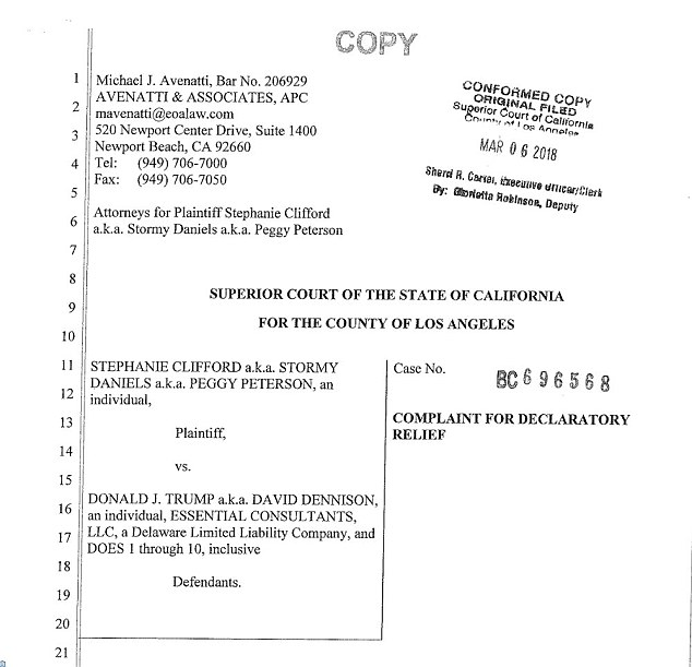 Adult Actress Stormy Daniels Sues Trump, Because He Didn\u0027t Sign The - non disclosure agreement