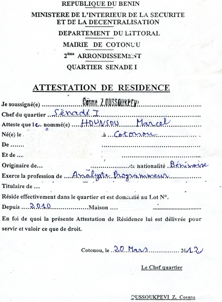 photo exemple de courrier de demande modele lettre