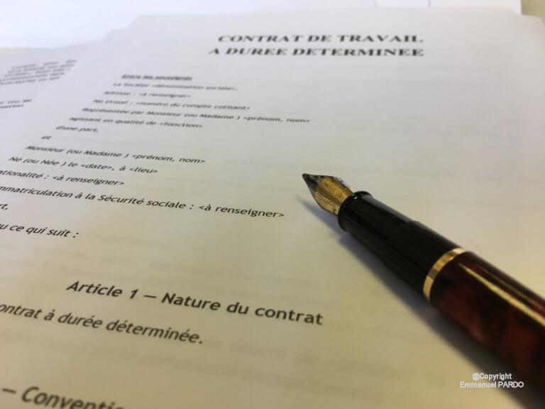 avis lettre pour rompre un contrat lettre type