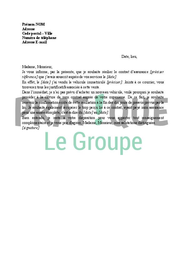 lettre resiliation contrat construction maison individuelle