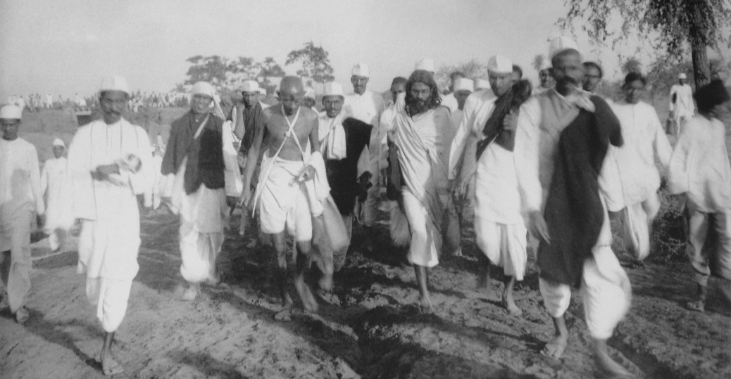 gandhijis salt satyagraha Find out more about the history of salt march, including videos, interesting  and with each passing day an increasing number of people joined the salt satyagraha.