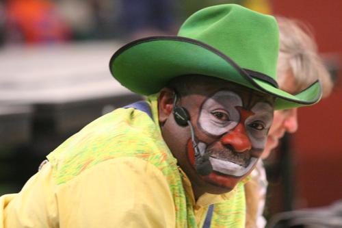 Leon Coffee - Barrel Man - Rodeo Clown - Bob Kisken in Casper, WY