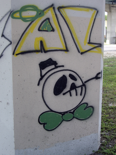 Dead Planet - Under the I-95 Overpass - Ft Lauderdale, FL