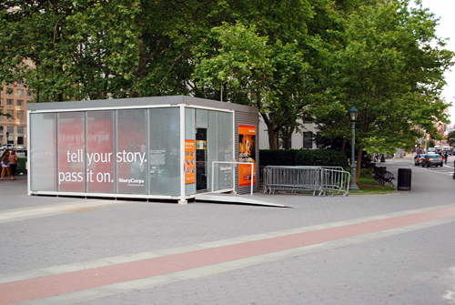 StoryCorps Booth - Foley Square