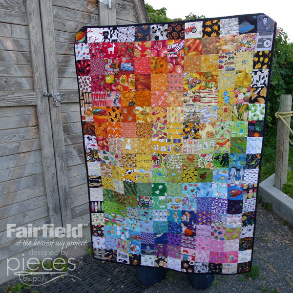 Rainbow Ombre Quilt - I-Spy Quilt - Fairfield World Craft Projects