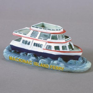 Ferry Boat Polyresin Figurines   3-12789-FB